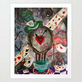 A Cup Of Time Art Print