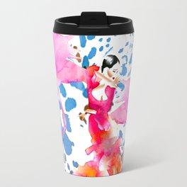 Flamenco Flamingo Travel Mug