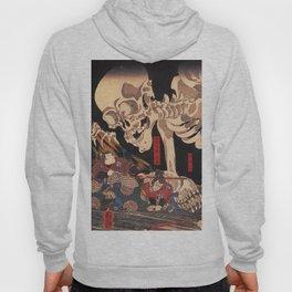 Takiyasha the Witch and the Skeleton Spectre, by Utagawa Kuniyoshi Hoody