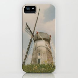A mill in rural The Netherlands iPhone Case