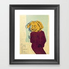 The Rabbit ver. 2 Framed Art Print