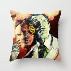 The Many Faces of Vincent Price Throw Pillow