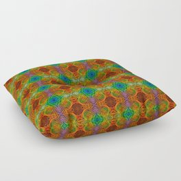 Tryptile 34d (Repeating 2) Floor Pillow