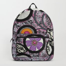 Lovely Flowers Pink Backpack