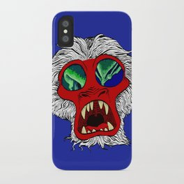 """Arctic Monkey"" by Virginia McCarthy iPhone Case"