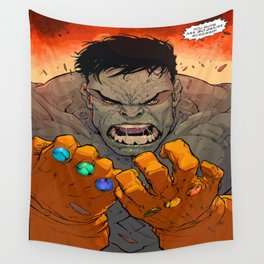 Hulk : You guys are so screwed Wall Tapestry