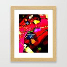 Plastic Flowers 1 Framed Art Print