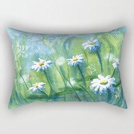 Daisies I Rectangular Pillow