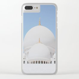 Sheikh Zayed Mosque II Clear iPhone Case