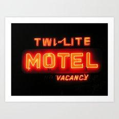 Twi-Lite Art Print