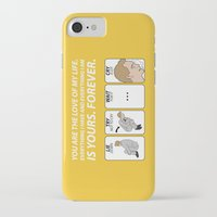 himym iPhone & iPod Cases featuring HIMYM by Aldo Cervantes Saldaña
