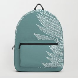 Modern Minimalist Botanical Backpack