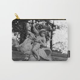 riding a lion Carry-All Pouch