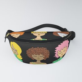 cute face fashion style Fanny Pack