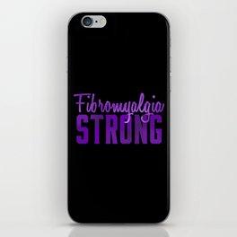 Fibromyalgia Strong iPhone Skin