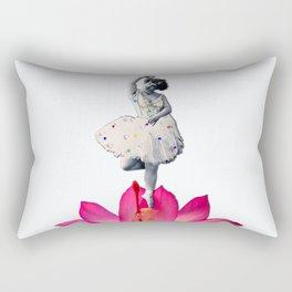 FLOWER DANCER Rectangular Pillow