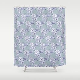 Lilium Speciosum Shower Curtain
