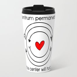 Centrum permanebit | The center will hold Travel Mug