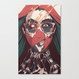 SELF ✖ INFLICTED Canvas Print