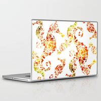 sea horse Laptop & iPad Skins featuring Sea-Horse by LIGHTNING9