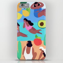 Fruity Beach iPhone Case