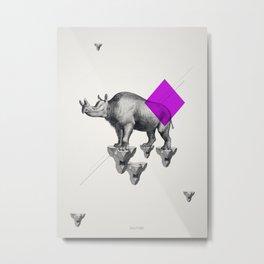 Archetypes Series: Solitude Metal Print