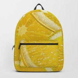 Juicy Lemon Slices Fruit Design Backpack