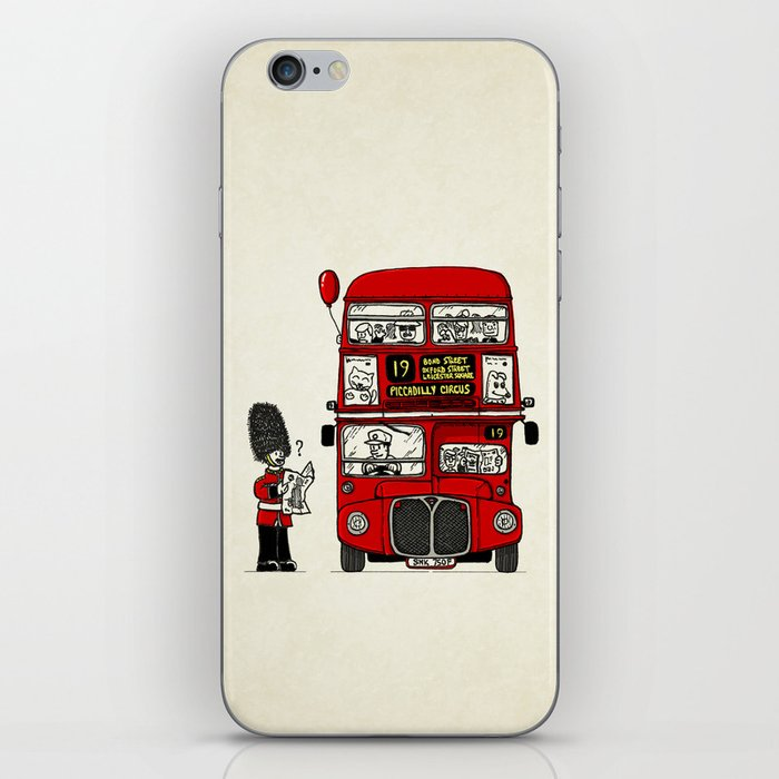 Lost in London iPhone Skin