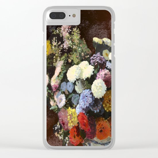 You don't bring me flowers Clear iPhone Case