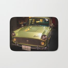 Old Vintage Car Bath Mat