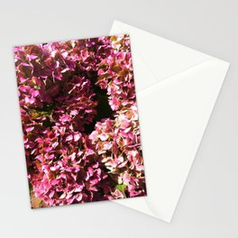 Hydrangea patterns III Stationery Cards