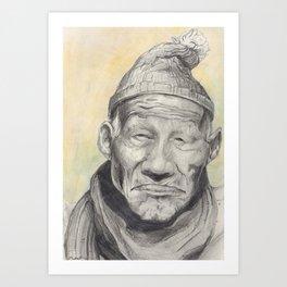 Old Man Series Art Print