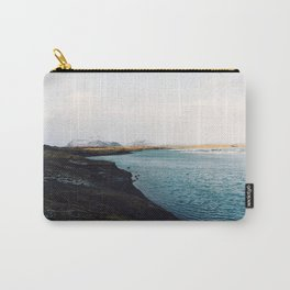 From the other side, Jökulsárlón, Iceland Art Print Carry-All Pouch