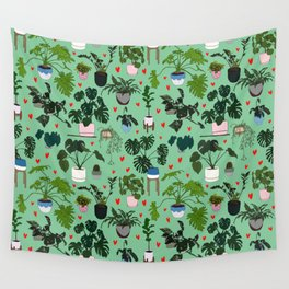 Indoor Plant lover: Plants are my soil mates Wall Tapestry