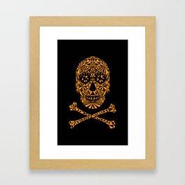 Skulleidoscope Framed Art Print