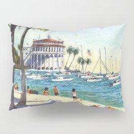 Avalon, Catalina Island Pillow Sham