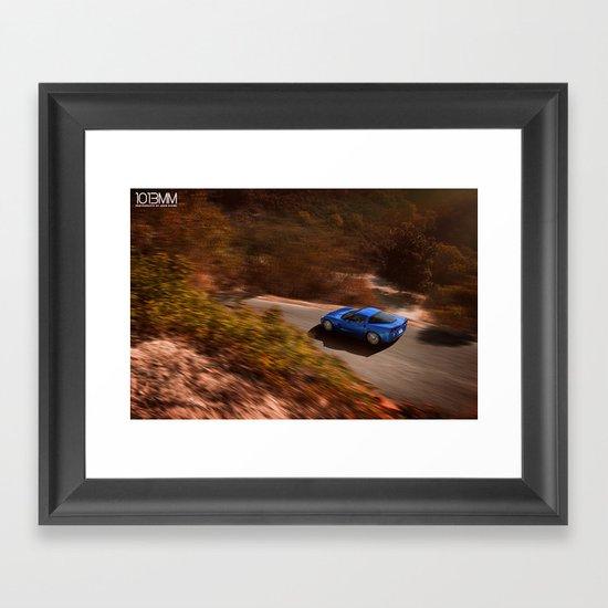 Corvette Z06 Framed Art Print