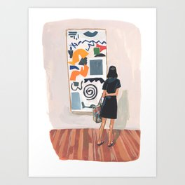 Abstraction Love Art Print