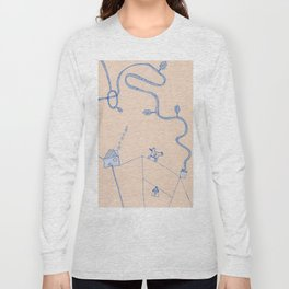 suspended city Long Sleeve T-shirt