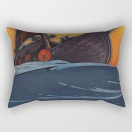 Rise Art Moves Rectangular Pillow