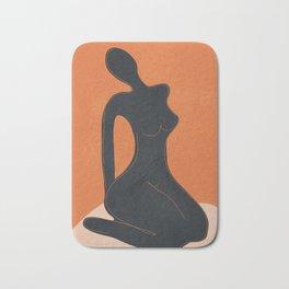 Abstract Nude II Bath Mat