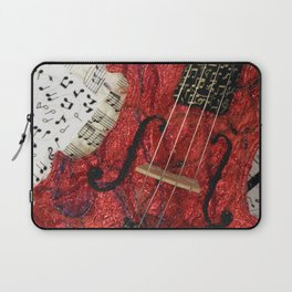 The Red Violin Laptop Sleeve