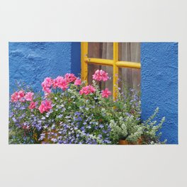 Blue House -Ireland Rug