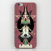baphomet iPhone & iPod Skins featuring Baphomet by Sparganum