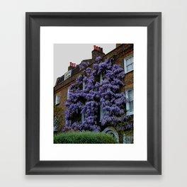 London Flat - Ivy Siding Framed Art Print