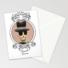 Dia de los Muertos Novio Stationery Cards