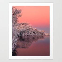 Color of Winter Art Print