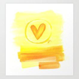 Prairie Love Art Print