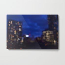 blurry nights Metal Print