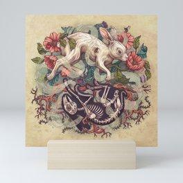 Dust Bunny Mini Art Print